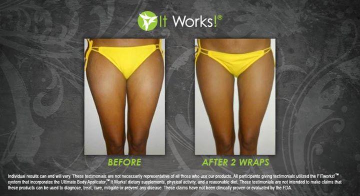 Les effets du wrap it works sur les cuisses