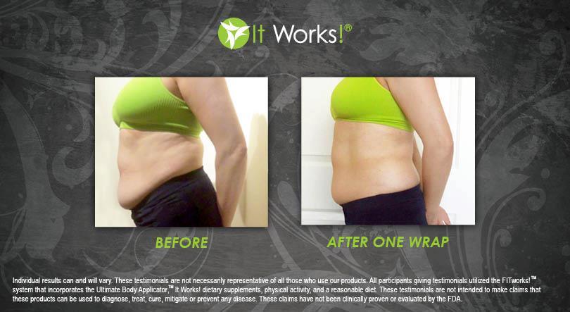 Les effets du wrap it works sur le ventre